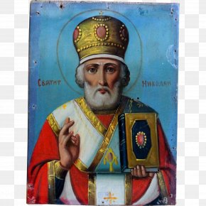 Saint Nicholas - Jesus Our Lady Of Kazan Russian Orthodox Church Russian Icons Icon PNG