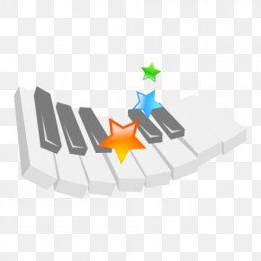 FIG Key Vector Material - Piano Musical Keyboard PNG