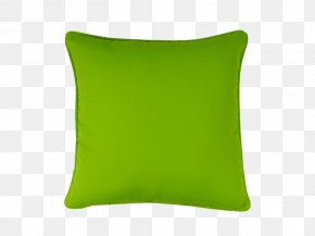 Pillow - Throw Pillow Cushion Green PNG