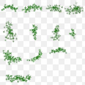 Bamboo Leaves - Facade Plane PNG