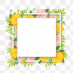 Beautiful Summer Flower Decoration Vector Background - Floral Design Flower Euclidean Vector PNG
