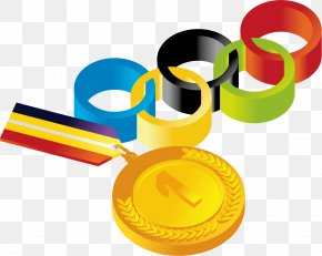 Medals Material Picture - Olympic Games Gold Medal Olympic Medal Clip Art PNG