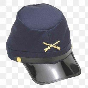 Pirate Hat - American Civil War United States Union Kepi Cap PNG