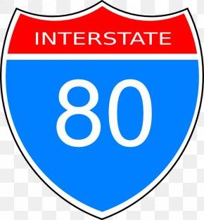 Number 80 Cliparts - Interstate 10 Interstate 90 Interstate 81 US Interstate Highway System Clip Art PNG