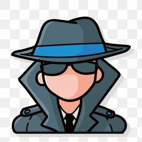 Hat Sunglasses Spy - Euclidean Vector Android Application Package Hat Clip Art PNG