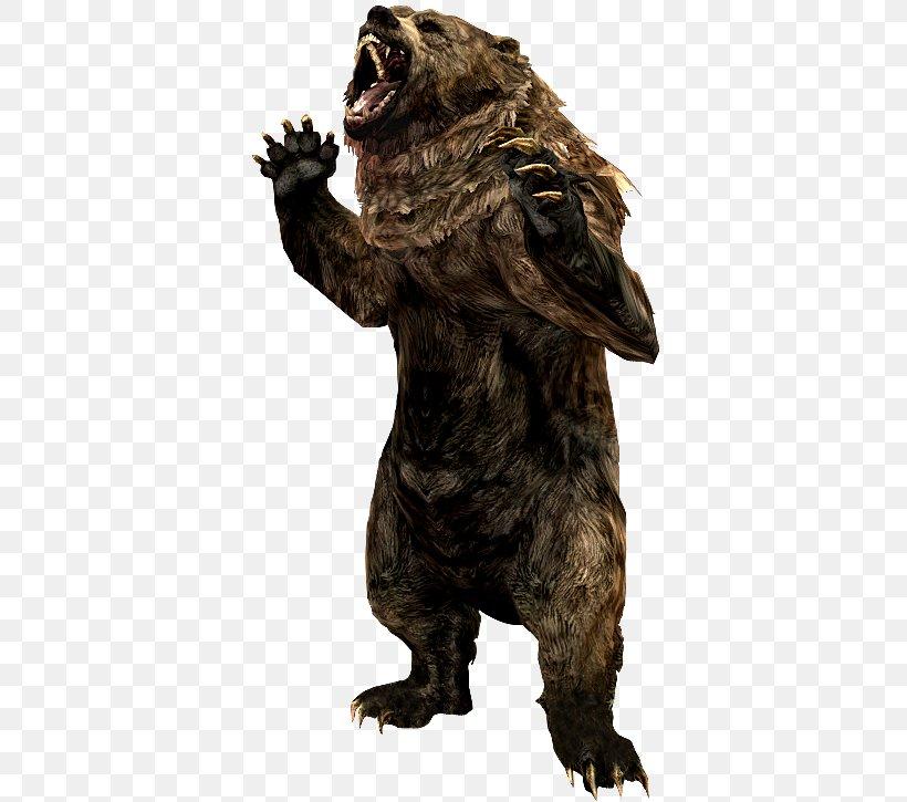Grizzly Bear The Elder Scrolls V: Skyrim – Dragonborn Cave Bear Animal Alaska Peninsula Brown Bear, PNG, 375x725px, Grizzly Bear, Alaska Peninsula Brown Bear, Animal, Bear, Bears Download Free