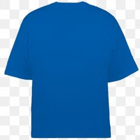 T-shirts - T-shirt Electric Blue Aqua Teal PNG