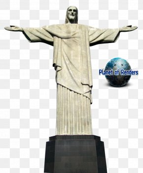 Jesus Brazil - Christ The Redeemer Corcovado Christ The King Statue PNG