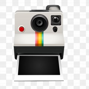 Color Polaroid Cameras Vector Material - Instant Camera Polaroid Corporation Photography PNG