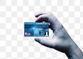 Show Blank Business Card For Business People - Paper Business Card Digital Card PNG
