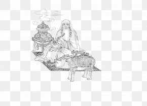 Line Tea Culture Tea Ceremony - History Of China Budaya Tionghoa Xian Drawing PNG