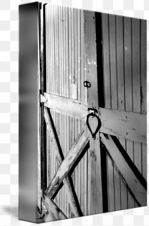 Barn Door - Gallery Wrap Canvas Art /m/083vt Steel PNG