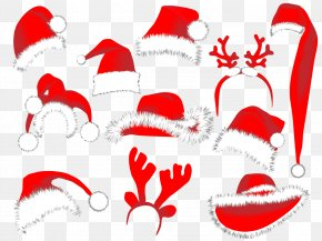 Holiday Decorations Christmas Hat Vector - Santa Claus Christmas Decoration Clip Art PNG