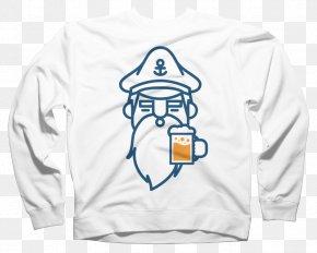 T-shirt - T-shirt Hoodie Beer Sweater Crew Neck PNG