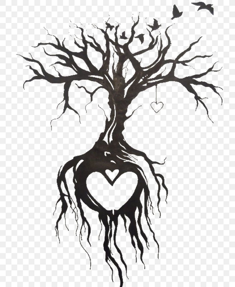 Tattoo Drawing Tree Sketch Png 736x998px Watercolor Cartoon Flower Frame Heart Download Free Cartoon tree free vector we have about (24,016 files) free vector in ai, eps, cdr, svg vector illustration graphic art design format. tattoo drawing tree sketch png