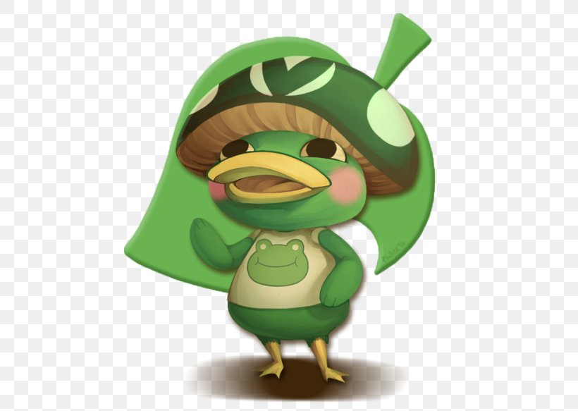 Animal Crossing: New Leaf Video Game Miitopia Team Fortress 2 Nintendo 3DS, PNG, 500x583px, Animal Crossing New Leaf, Amphibian, Animal Crossing, Beak, Bird Download Free