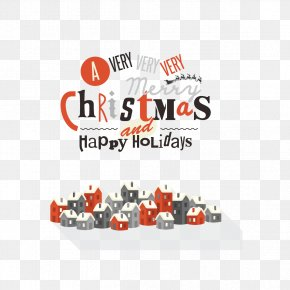 Font Design Vector Christmas - Christmas Typeface Computer Font PNG