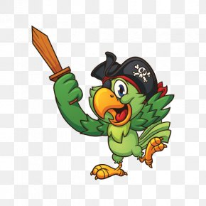 Pirate Parrot - Piracy Pirate Parrot Clip Art PNG