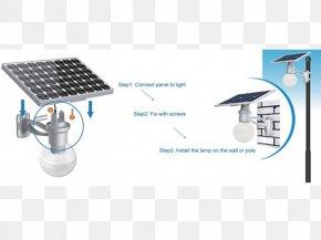 Light - Solar Street Light Solar Lamp LED Lamp PNG
