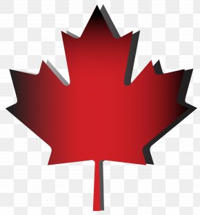 Red Maple Leaf - Flag Of Canada Maple Leaf Zazzle PNG