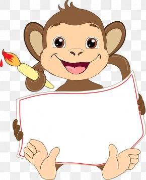 Animals Monkeys - Monkey Chinese New Year New Years Resolution PNG