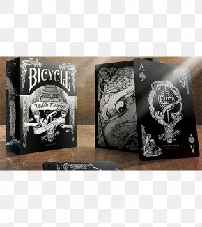 Playing Card Black - United States Playing Card Company Bicycle Playing Cards Cardistry Card Game PNG