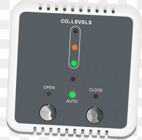 Solar Air Conditioning - Carbon Dioxide Sensor Building Management System Graphical User Interface Electronics PNG