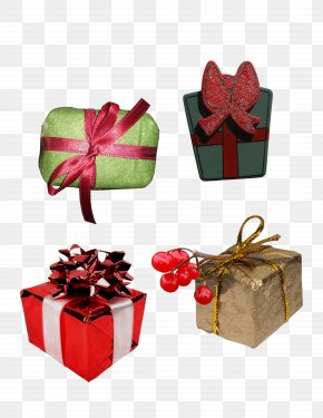 Creative Gift Set - Gift Stereoscopy PNG