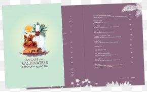 Creative Menu - Kerala Advertising Menu Restaurant Onam PNG