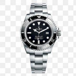 Mechanical Watches Rolex Black Male Watch - Rolex Sea Dweller Rolex Submariner Rolex Datejust Rolex GMT Master II Rolex Daytona PNG