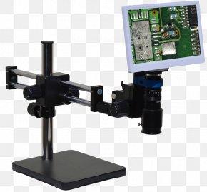 Digital Microscope - Digital Microscope 1080p Computer Monitors High-definition Video PNG