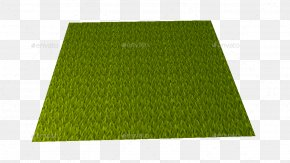 Hand Painted - Lawn Artificial Turf Rectangle Grasses PNG
