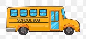 School Bus Cliparts - School Bus Student Bus Driver PNG