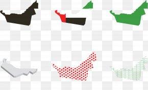 Vector UAE Map Illustration - United Arab Emirates Euclidean Vector Map Illustration PNG