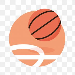 Sports Equipment Round Icon - Sport Basketball Olympic Games Icon PNG