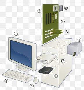 Computer Desktop Pc - Personal Computer Motherboard Computer Hardware Microprocessor PNG