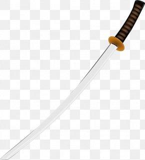 Japan Samurai Sword Image - Cold Weapon Material Pattern PNG