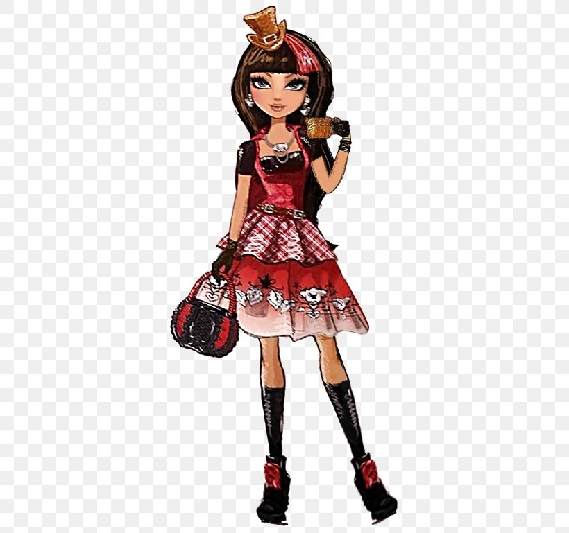 Ever After High Doll Little Red Riding Hood Hat Costume Png