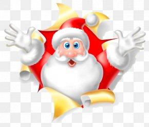 Santa Claus - Santa Claus New Year Rudolph Christmas Ded Moroz PNG