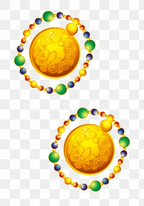 Chinese New Year Festive Elements Jewelry - Tangyuan Chinese New Year Firecracker Icon PNG