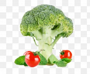 Broccoli Tomatoes - Broccoli Cauliflower Vegetable Clip Art PNG