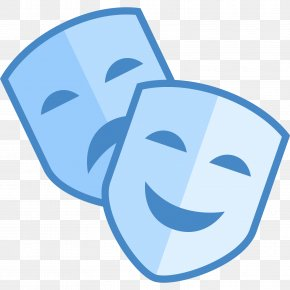 Anonymous Mask - Theatre Mask Clip Art PNG