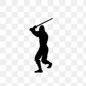 Spear - Ninja Silhouette Stock Photography Illustration PNG