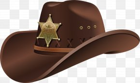 Hat Png Vector Material - Hat 'n' Boots Fedora Cowboy PNG