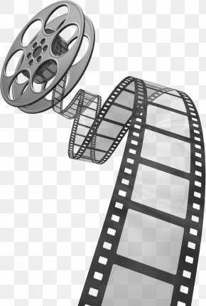 Movie Film - Photographic Film Reel Clip Art PNG