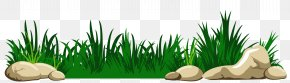 Grass With Rocks Transparent Clipart - Download Clip Art PNG