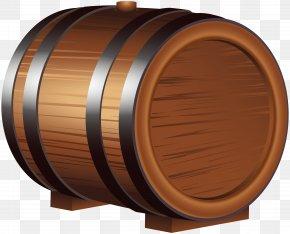 Wooden Barrel Clip Art Image - Oktoberfest Barrel Clip Art PNG
