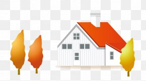 Autumn House - Autumn Poster Cartoon PNG
