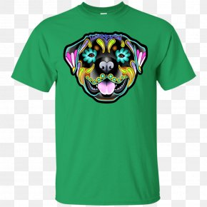 T-shirt - Rottweiler Calavera American Pit Bull Terrier French Bulldog PNG
