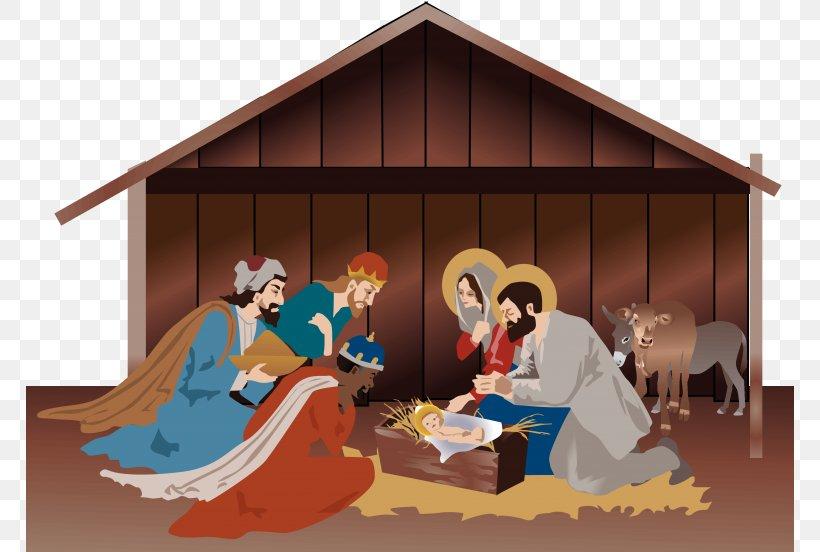 Nativity Scene Nativity Of Jesus Christmas Day Clip Art Christmas, PNG, 768x552px, Nativity Scene, Art, Biblical Magi, Christ Child, Christmas Day Download Free